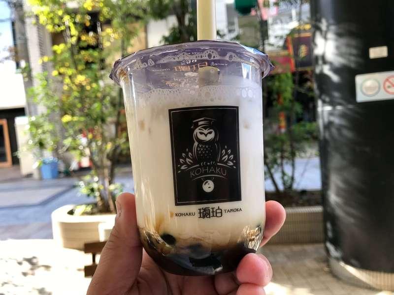琥珀(こはく)静岡浜松店のタピオカ