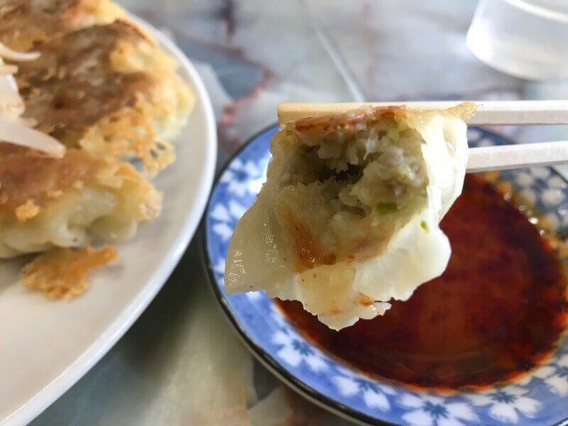 むつ菊の餃子の餡