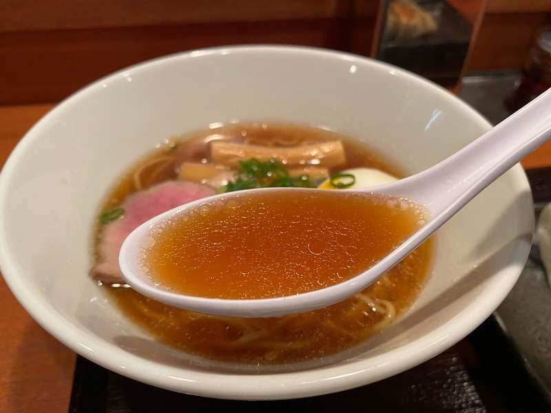 餃子家きくやのスープ