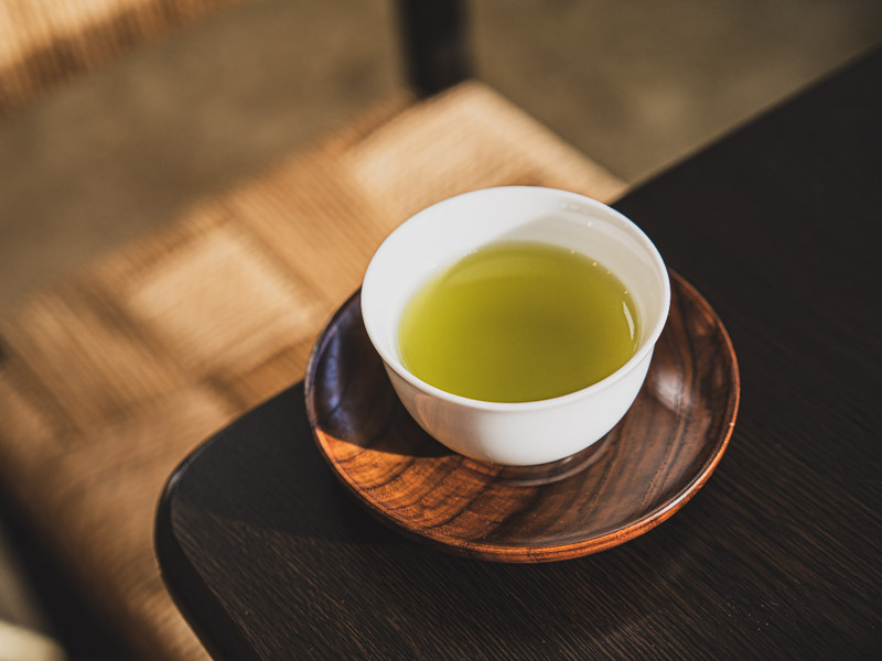 お茶の光緑園のお茶