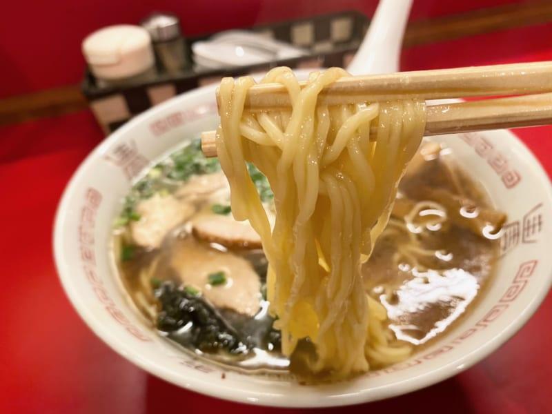 中華そば 浪花の麺