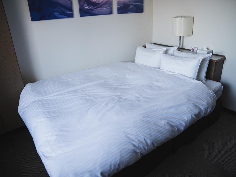 ホテル レオン浜松 ベッド