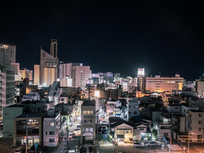 ホテル レオン浜松 窓からの景色
