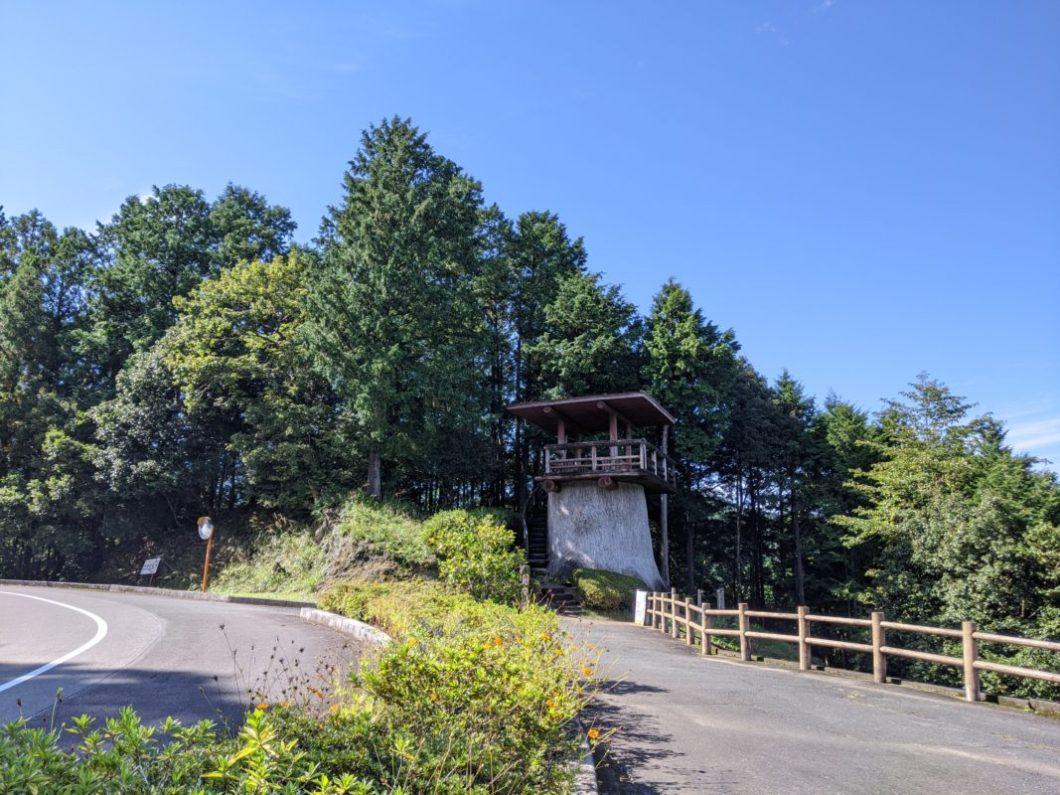青洞の丘展望台遠景