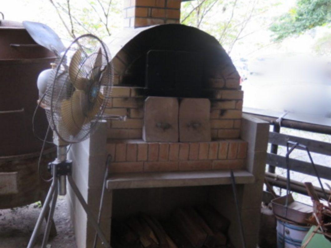 川音の郷ピザ窯