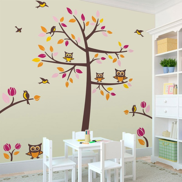 Birdies Wall Stickers for Children  MuralDecalcom