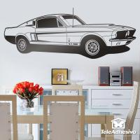 Wall sticker Ford Mustang Shelby GT 500 | MuralDecal.com