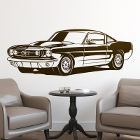Wall sticker Ford Mustang Shelby GT350 | MuralDecal.com