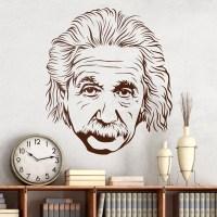 Wall Stickers Albert Einstein 2