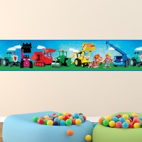 Wall Border Stickers for Children | MuralDecal.com
