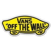 Sticker Surf Skate Vans off the wall 2   MuralDecal.com