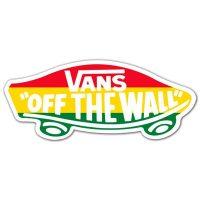 Sticker Surf Skate Vans off the wall 4   MuralDecal.com