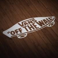 Sticker Surf Skate Vans off the wall   MuralDecal.com