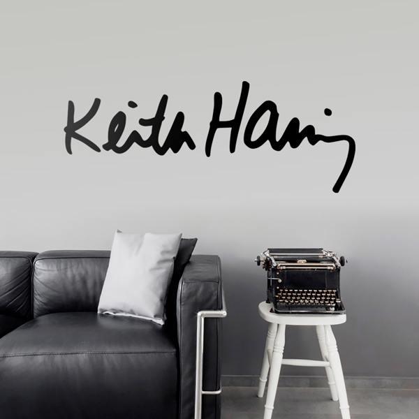 """Era luglio 1989 quando il writer newyorkese keith haring realizzò a pisa il murale """"tuttomondo"""" Wall Sticker Keith Haring Muraldecal Com"""