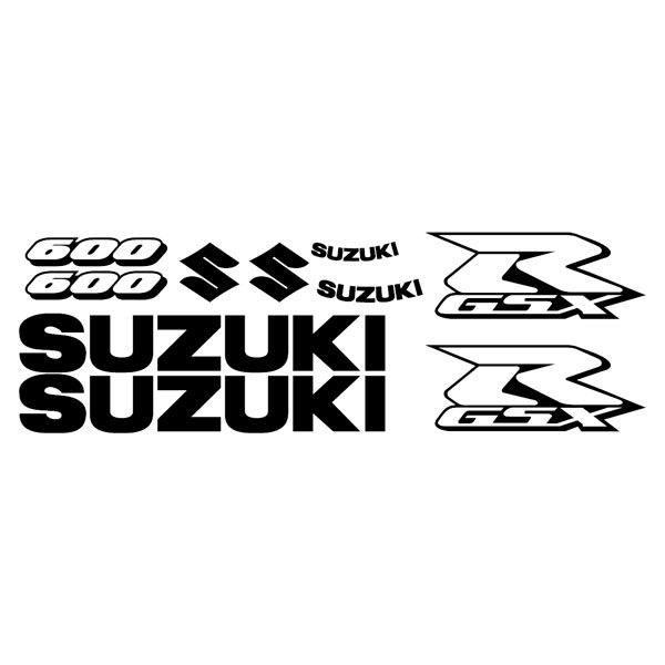 Model GSXR 600 Contour Sticker 2006