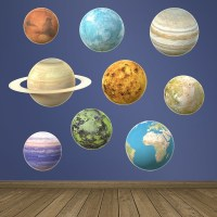 Space Wall Stickers | MuralDecal.com