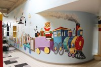 Ottawa Day Care Interactive Wall Mural | Mural Magic