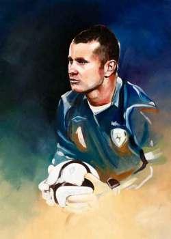 Shay Given, Ireland, Donegal, FAI, Irish goalkeeper,