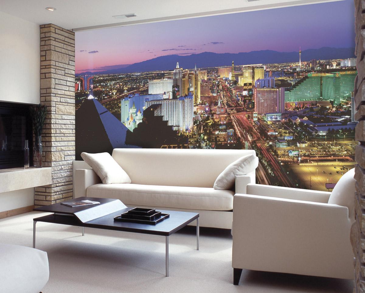 Vegas Lights C836 wall mural