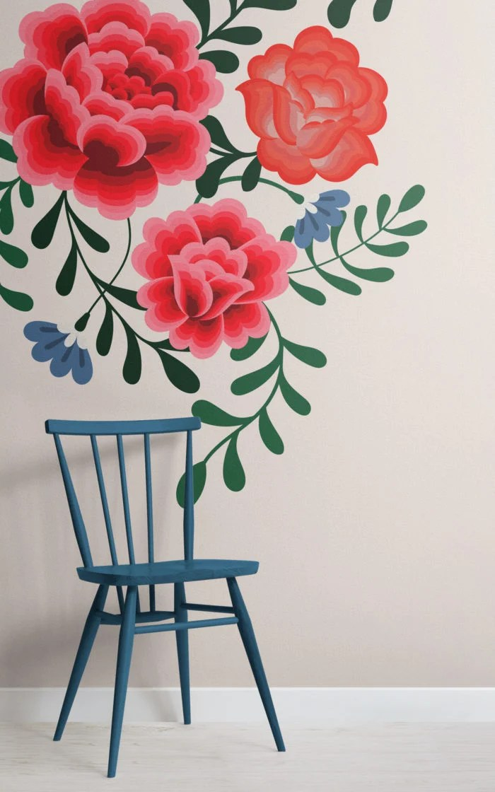 Feminism Quotes In The Yellow Wallpaper Mexican Wallpaper A Floral Collection Inspired By Frida