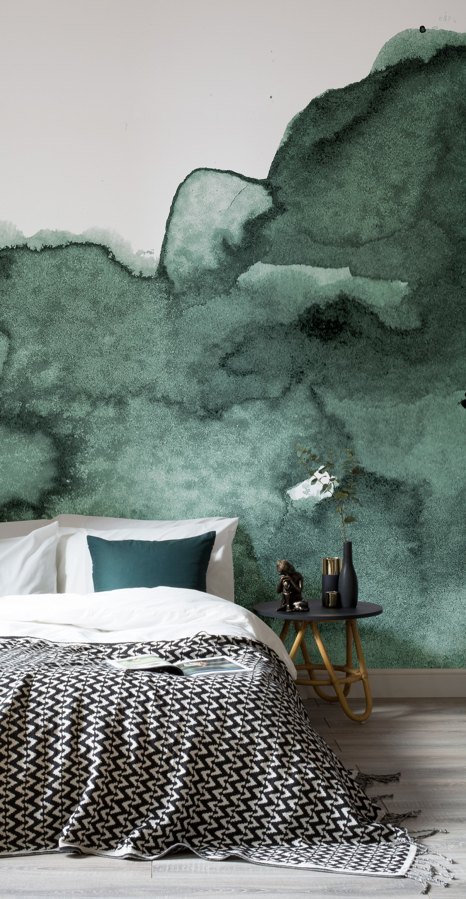 Dream On With These 11 Watercolour Wallpapers  Murals