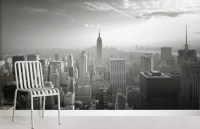 Empire State Skyline Wallpaper Wall Mural ...