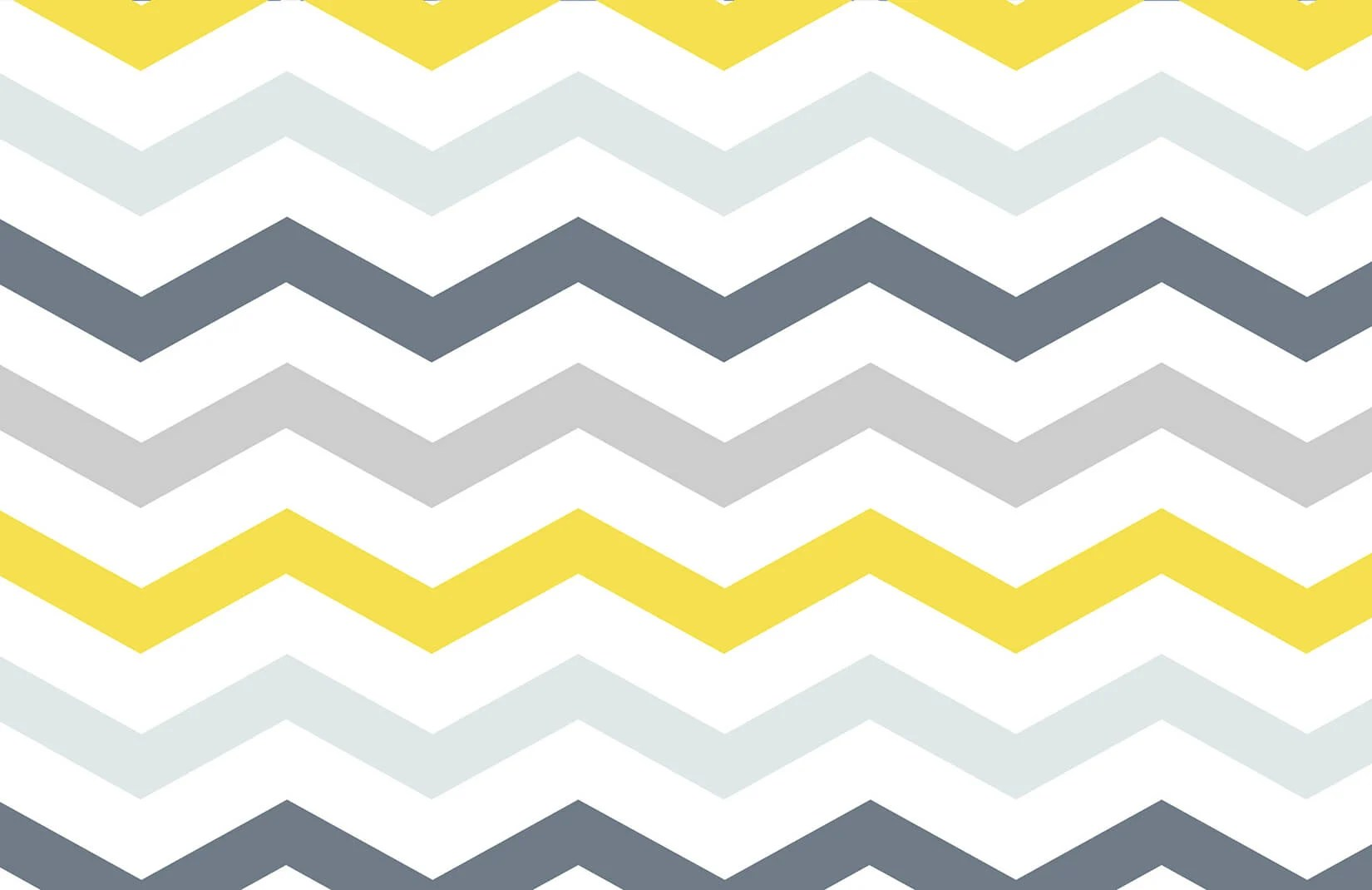 Yellow and Grey Chevron Wallpaper  Murals Wallpaper