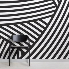 Black And White Wallpaper Ideas For Living Room Choosing Paint Colors Your Designs Unique Patterns Luxury Murals Walmer Layered Wall Mural