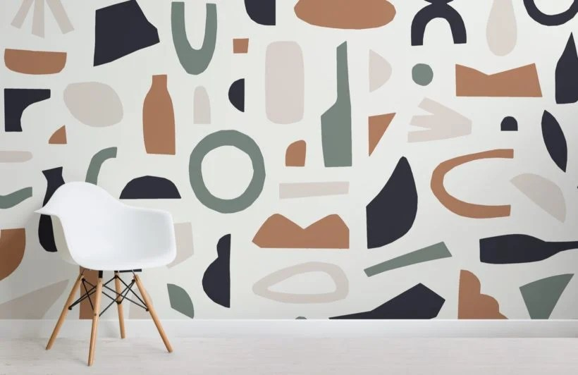 matisse inspired wallpaper abstract