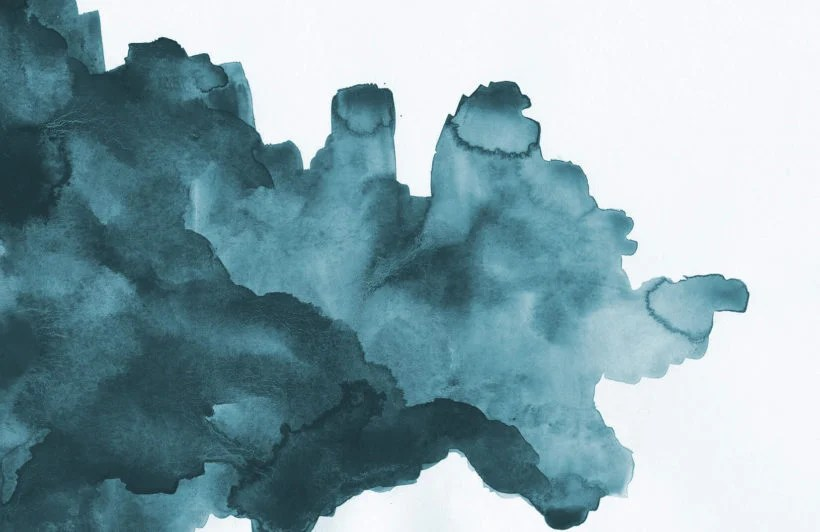 teal watercolor wallpaper muralswallpaper