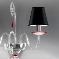 """""""Picandoi"""" Murano glass sconce"""