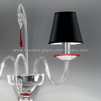 """Picandoi"" Murano glass sconce - Murano glass chandeliers"
