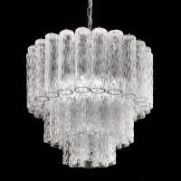 """Tronchi"" Murano glass chandelier - Murano glass chandeliers"