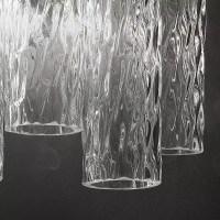 """Tronchi"" Murano glass sconce"