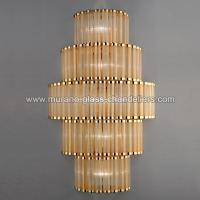 """Tebe"" Murano glass sconce - Murano glass chandeliers"