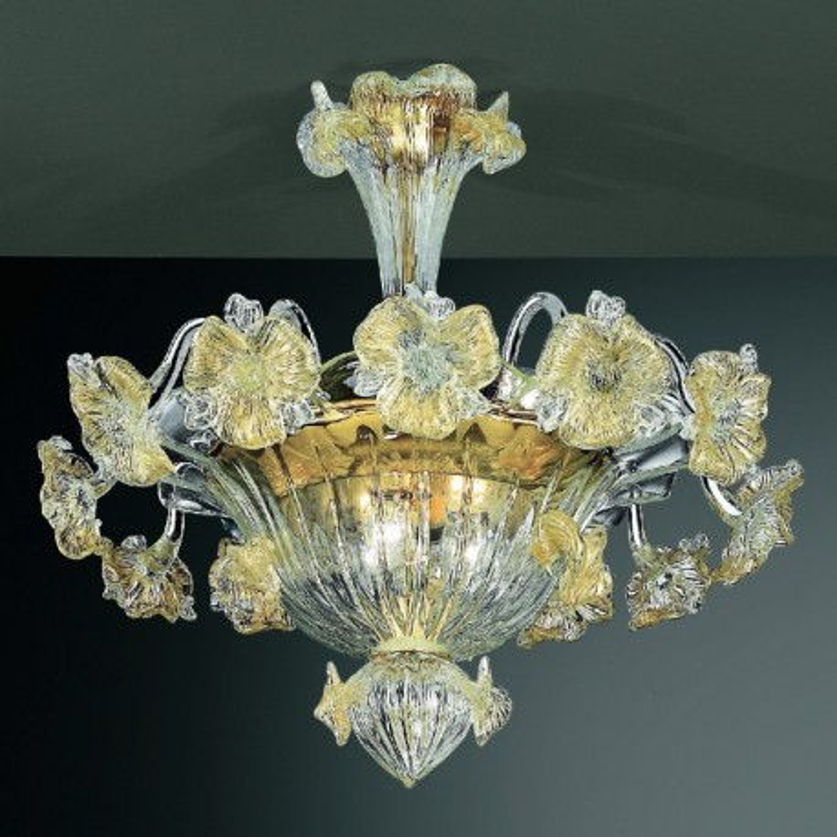 Quot Tiepolo Quot Murano Glas Deckenleuchte Murano Glass Chandeliers