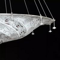 """""""Dubai"""" Murano glass pendant light - Murano glass chandeliers"""