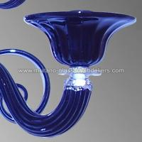 """Iolanda"" Murano glass sconce - Murano glass chandeliers"