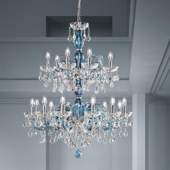 Magnifico grande lampadario da salotto. Lampadari Boemia Moderni E Classici Murano Glass Shop