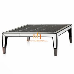 mirrored glass coffee table online