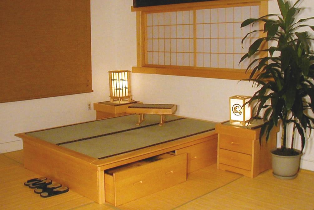 Java Tatami Bed