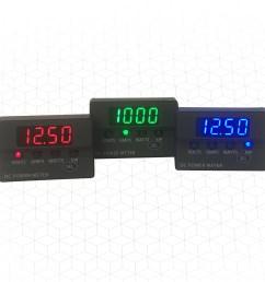 dc panel meters display voltage current and power [ 2100 x 1500 Pixel ]