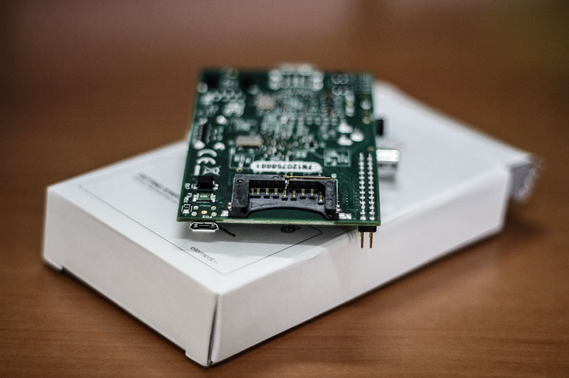 Raspberry Pi SD Kart Girişi