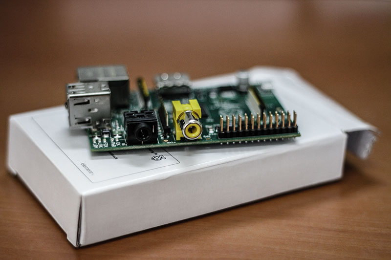 Raspberry Pi Audio Analog Video Girişi