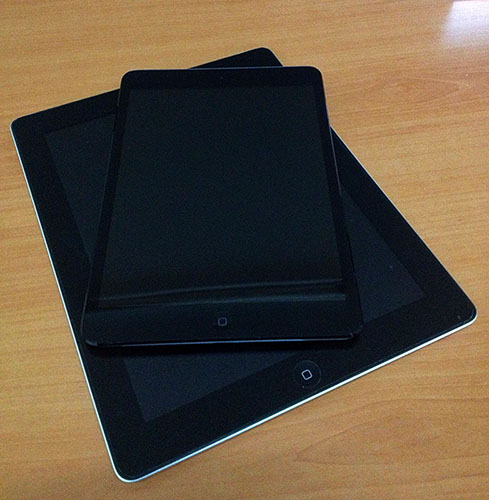 iPad 2 vs iPad Mini