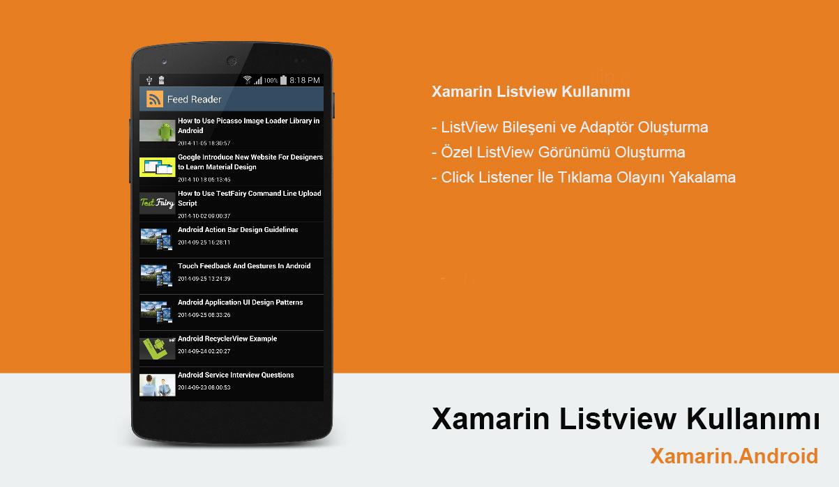 Xamarin Android ListView