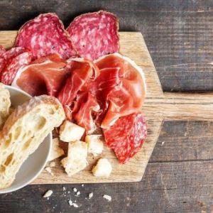 Parma skinke og fennikel salami