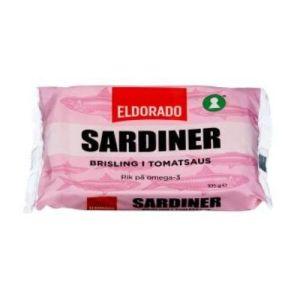 SARDINER BRISLING I TOMAT 105G ELDORADO