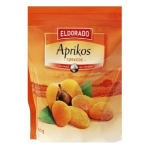 Aprikoser tørkedet 200g Elderado