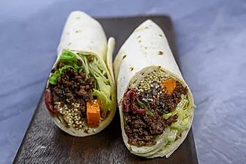 Wraps kjøttdeig